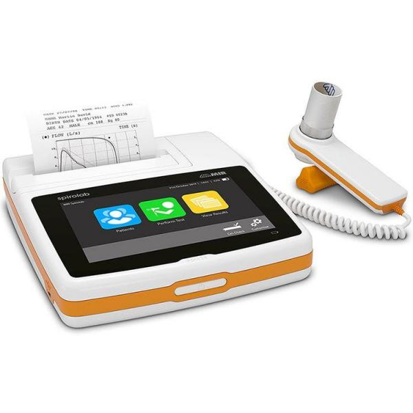 Spirometru Spirolab New with Oximeter, Bluetooth and 60 disposable turbines